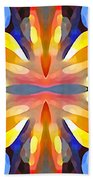 Abstract Paradise Hand Towel