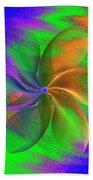 Abstract Pinwheel Bath Towel