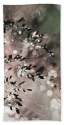 Abstract Plant Bath Towel
