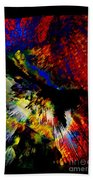 Abstract Pm Bath Towel