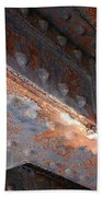 Abstract Rust 3 Bath Towel