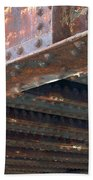 Abstract Rust 4 Bath Towel