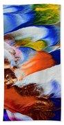 Abstract Series N1015al  Bath Towel