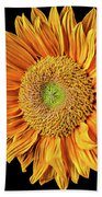 Abstract Sunflower Hand Towel