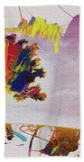 Abstract Tree 33w Bath Towel