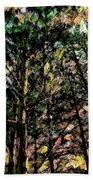 Abstract Trees 691 Bath Towel