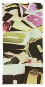 Abstract Typescript Hand Towel