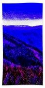 Abstract Views Bath Towel