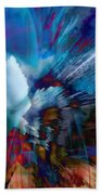 Abstract Visual Bath Towel