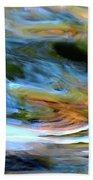 abstract water 2309DB Bath Towel