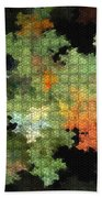 Abstract World Bath Towel