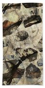 Abstraction 2325 Bath Towel