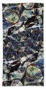 Abstraction 2326 Bath Towel