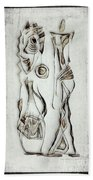 Abstraction 2823 Bath Towel