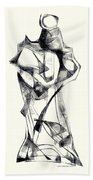 Abstraction 2925 Hand Towel