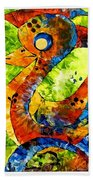Abstraction 3199 Bath Towel