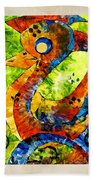 Abstraction 3200 Bath Towel