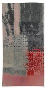 Abstractionnel Bath Towel