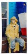 Acadian Fisherman, Prince Edward Island, Canada Hand Towel