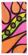 Aceo Abstract Design Bath Towel
