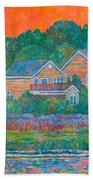 Across The Marsh At Pawleys Island       Bath Towel