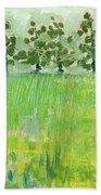 Across The Meadow Hand Towel by Jennifer Lommers