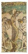 Adam And Eve Bath Towel