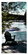 Adirondack Silhouette Bath Towel
