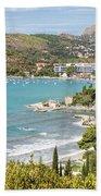 Adriatic Coast In Croatia Bath Towel