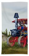 Advance Rumely Steam Traction Engine Bath Towel