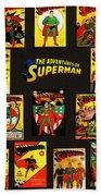 Adventures Of Superman Hand Towel