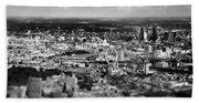 Aerial View Of London 6 Bath Towel