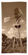 Aermotor Windmill Bath Towel