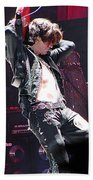 Aerosmith-joe Perry-00053 Bath Towel