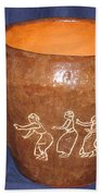 African Ladies Lead The Dance - View One Bath Towel