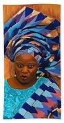 African Woman 5 Bath Towel