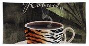Afrikan Coffees II Bath Towel