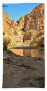 Afternoon At Boquillas Canyon Bath Towel