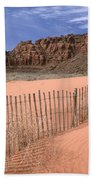 Afternoon In Snow Canyon Bath Towel