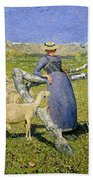 Afternoon In The Alps Bath Towel
