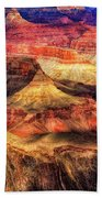 Afternoon Light At Mather Point, Grand Canyon Bath Towel