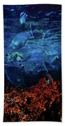 Afternoon On The Reef Bath Towel