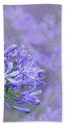 Agapantha Lilac Pastel By Kaye Menner Bath Towel