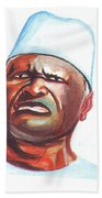 Ahmed Sekou Toure Bath Towel