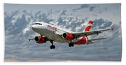 Air Canada Rouge Airbus A319 Hand Towel