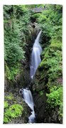 Aira Force Waterfall, Aira Beck, Ullswater, Lake District Hand Towel
