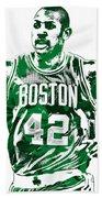 Al Horford Boston Celtics Pixel Art Bath Towel