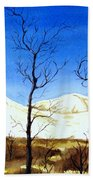 Alaska Blue Sky Day  Bath Towel