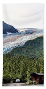 Alaska Glacier B Bath Towel