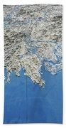 Alaska Map Wall Art Bath Towel